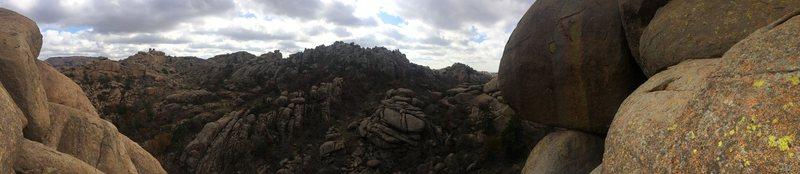 Rock Climbing Photo: charon's gardens