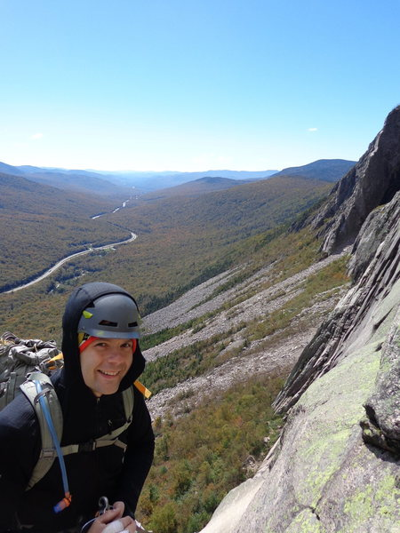 Rock Climbing Photo: For some reason the highway snaking through the no...