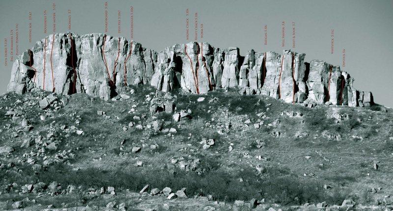 Rock Climbing Photo: Chimney Butte