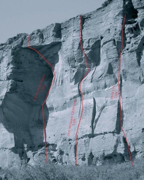 Rock Climbing Photo: some options over to the east