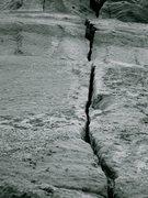 Rock Climbing Photo: 'Old Woman Crawling'/'One Bolt'