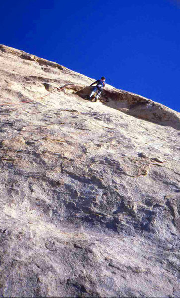 Rock Climbing Photo: Eric Collins on Walk on the Wild Side