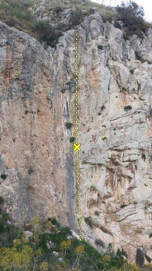 Rock Climbing Photo: Per un Pugno di Dollari (7a)