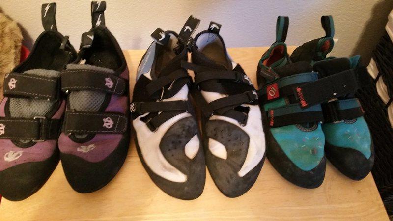 Rock Climbing Photo: shoes 1