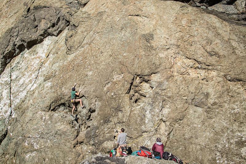 Lots of fun climbing!