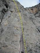 Rock Climbing Photo: The route Petit haut