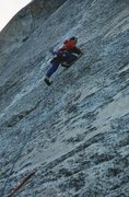 Rock Climbing Photo: Golden Bars on Pywiack Dome, Photo by Eric Collins