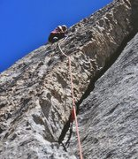 Rock Climbing Photo: Scavenger on Fairview Dome, photo by Eric Collins