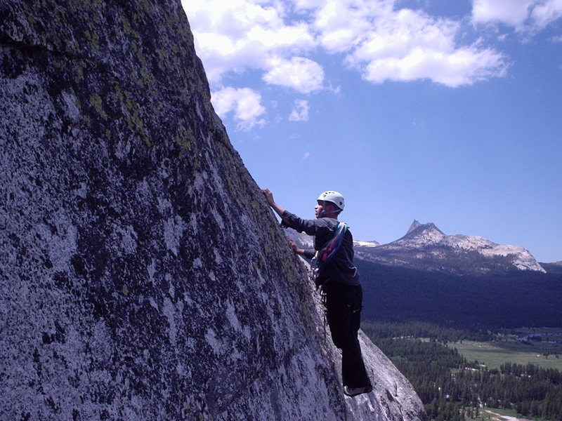 Sascha Madrid on Crying Time Again, North Face Lembert Dome