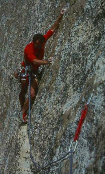 Rock Climbing Photo: Finishing Ciebola