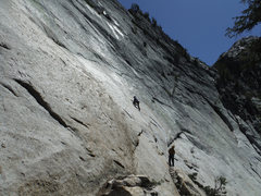 Rock Climbing Photo: Tom Rogers on Slasher, Razorback