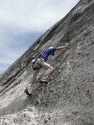Rock Climbing Photo: Tom Rogers on Plutonics, Dozier Dome