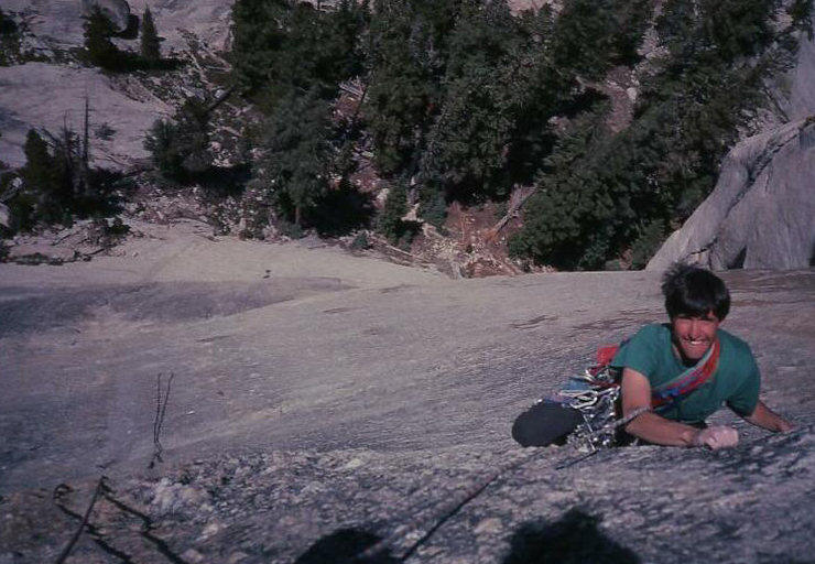 Eric Collins on Crescent Arch, Daff Dome