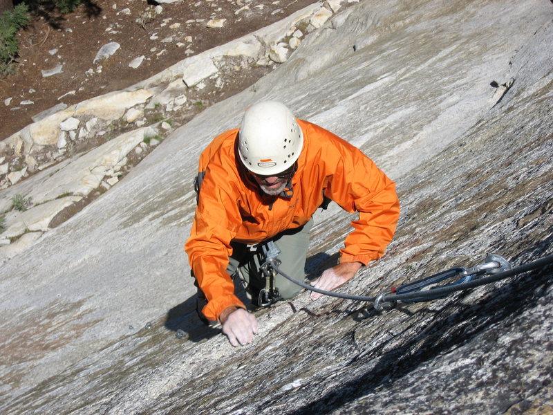 Rock Climbing Photo: Slasher on Razorback, photo by Tom Rogers