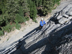 Rock Climbing Photo: Isostacy on Dozier Dome, photo by Tom Rogers