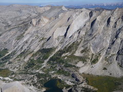 Rock Climbing Photo: Prism - center (just left) Saber Ridge - center (j...