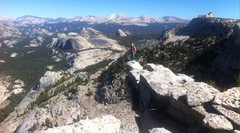Rock Climbing Photo: Summit of Tenaya Peak