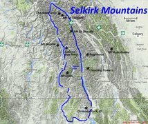 Rock Climbing Photo: Selkirk Mountains Defined