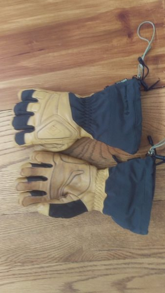 Rock Climbing Photo: BD Guide Gloves - Size Small - Like New
