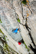 Rock Climbing Photo: Varied and clean - pitch 2 - 2015.