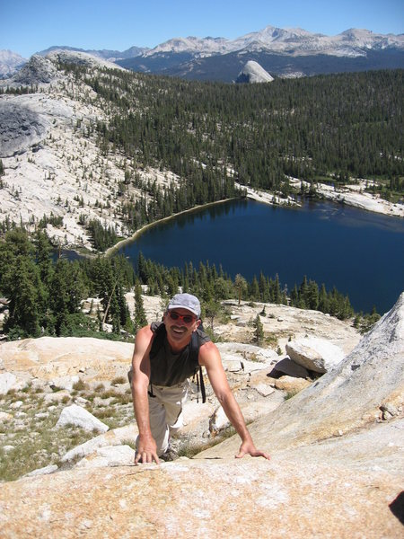 Above Lower Cathedral Lake, photo by Tom Rogers