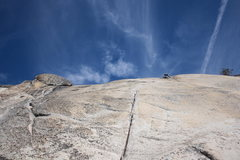 Rock Climbing Photo: Tom Rogers leading Great Circle on South Flank of ...