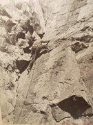 Rock Climbing Photo: Hugh Neave climbs The Bell Ringer @ Sugar Loaf nea...