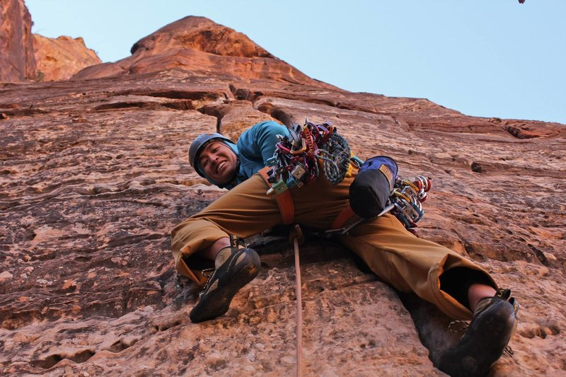 Rock Climbing Photo: here we go!