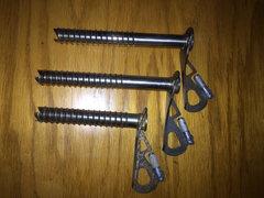 Rock Climbing Photo: BD screws