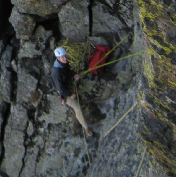 Jeff at last belay