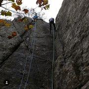 Rock Climbing Photo: Sandbox Corner and Left