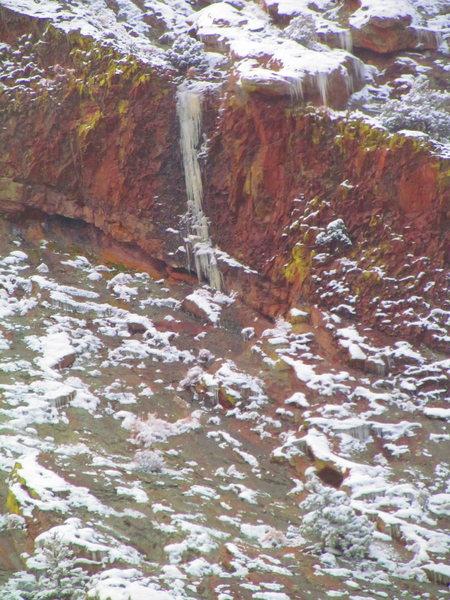 Rock Climbing Photo: Pillar.