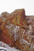Rock Climbing Photo: Redgarden ice.