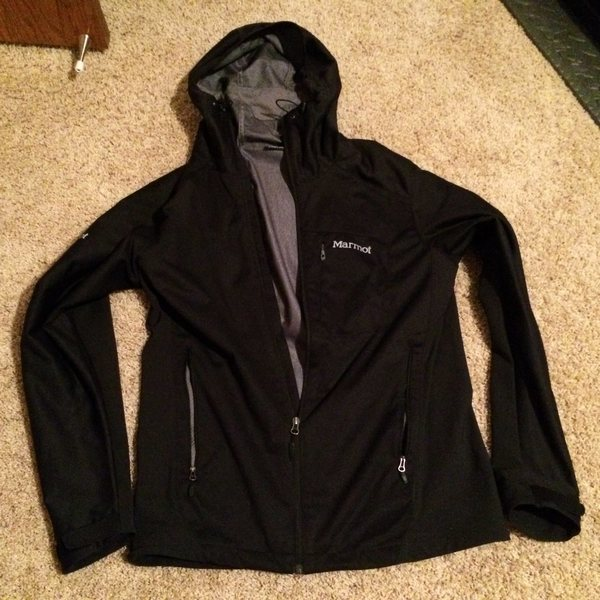 Marmot ROM Jacket - Mens Med Black excellent cond.