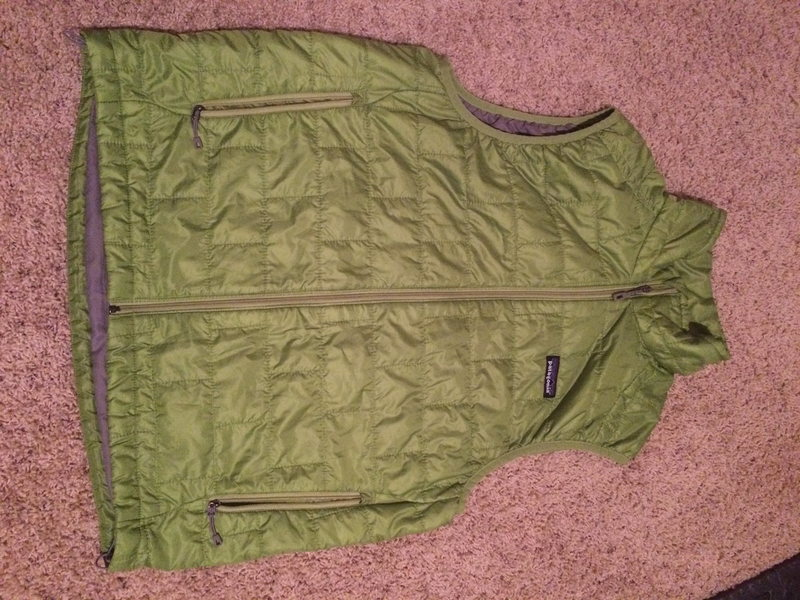 Patagonia Nano Puff Vest - Mens Med. Green, Excellent condition