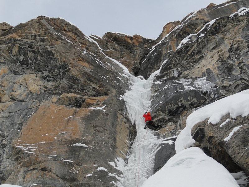 Rock Climbing Photo: Maury Perreault on Rick Blak
