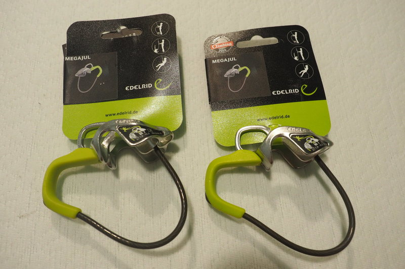 Edelrid Megajul autoblocking belay device