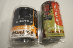 Jetboil MiniMo (awesome) and Java kit