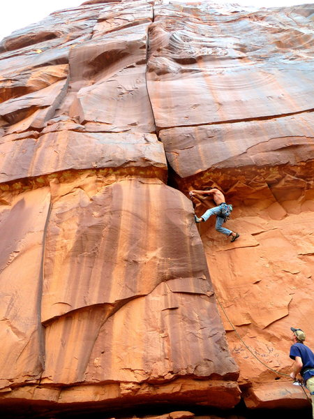 Rock Climbing Photo: Trout Man photo