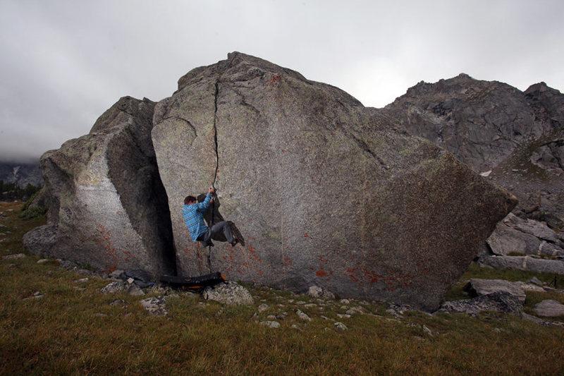 alpine bouldering