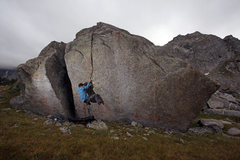 Rock Climbing Photo: alpine bouldering