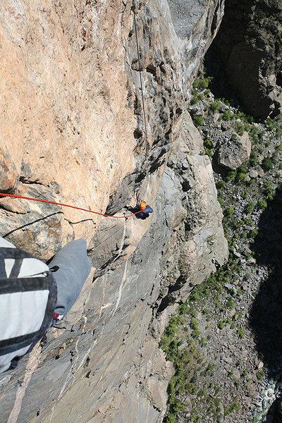 Rock Climbing Photo: hallucinogen wall