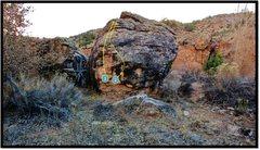 Rock Climbing Photo: East Creek Posse problem beta number 2.
