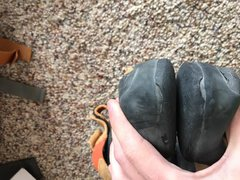 Rock Climbing Photo: Size 37.5