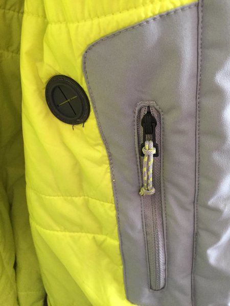internal chest pocket<br>