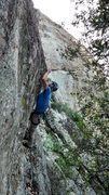 Rock Climbing Photo: slapping the bulge