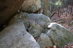 Rock Climbing Photo: The only downside to this problem and its a big do...