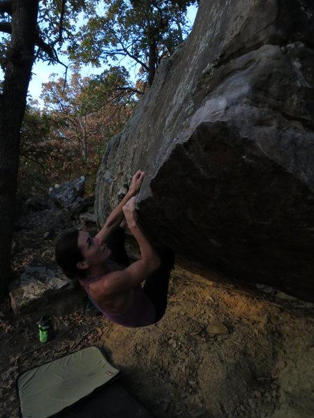 Rock Climbing Photo: Photo credit Graham Davis (Bouldering Jesus)
