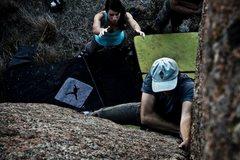 Rock Climbing Photo: Photo credit: Harvey Burchett