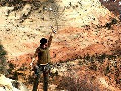 Rock Climbing Photo: Southern Utah